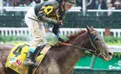 Brian Hernandez Jr Cele Tes After Bombing The Pat Day Mile Toteboard Credit Coady P Ography Funny Ducks