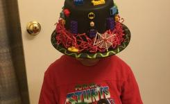 Lego Hat For Crazy Hat Day During Read Across America Week