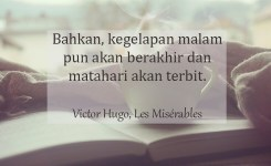 Kata Kata Indah Novel Victor Hugo
