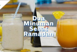 Cara Memasak Minuman Penunda Lapar Saat Puasa dan Jus Semangat Ramadan