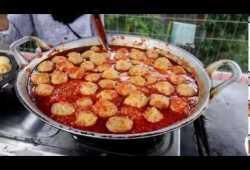 Cara Memasak WAH SURGA MAKANAN ADA DI SINI-MAKAN BAKSO BLEDEK  #ramadhan street food