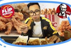 Cara Memasak KFC vs FLIP BURGER Kulit Ayamnya Enakan Mana? !! – Rekomendasi Menu Buka Puasa