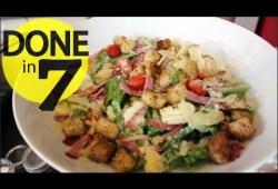 Cara Memasak Caesar Salad – Done In 7