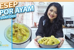 Cara Memasak Resep Opor Ayam Kuning Diah Didi, Wajib Hadir Buat Lebaran Nanti!