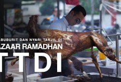 Cara Memasak Ngabuburit Mencari Takjil dan Makanan Berbuka Puasa di Bazaar Ramadhan TTDI, Malaysia (2019)
