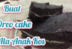 Cara Memasak RESEP OREO CAKE | MASAK ALA ANAK KOS