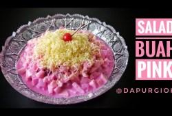 Cara Memasak RESEP RAHASIA SALAD BUAH ENAK TANPA ENEG – SALAD BUAH PINK