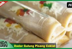 Cara Memasak Cara Membuat Dadar Gulung Pisang Coklat Resep Jajanan Indonesia Recipes Cooking Bunda Airin