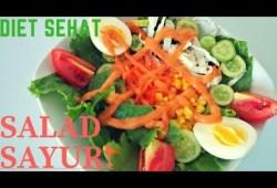 Cara Memasak ENAK & SEHAT !!! SALAD SAYUR SEDERHANA – Resep Masakan Indonesia Sehari Hari