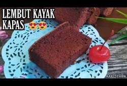 Cara Memasak BOLU COKLAT SELEMBUT KAPAS  – TANPA PENGEMBANG (OGURA COKLAT CAKE)