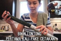 Cara Memasak MASAK & MAKAN LONTONG SAYUR PAKE SAMBAL PEDAS  | MANGLENG COCOL SAMBAL