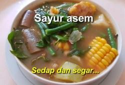 Cara Memasak Resep sayur asem