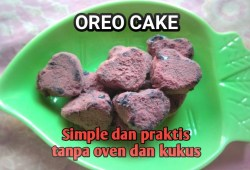 Cara Memasak OREO CAKE TANPA OVEN TANPA KUKUS || RESEP JAJANAN CHANNEL