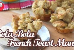 Cara Memasak Resep Kue Spesial, Cara Membuat Bola Bola French Toast Manis ● Resep Kue Mudah ● Resep Tiyan