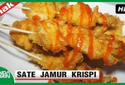 Cara Memasak Cara Membuat Sate Jamur Krispi Resep Jajanan Indonesia Recipes Cooking Bunda Airin