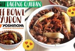 Cara Memasak Resep Daging Qurban – Gyudon Beef Bowl ala Yoshin*ya Bahan Gampang Anti Gagal