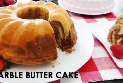 Cara Memasak Resep BOLU MARMER tanpa baking powder | Marble Butter Cake Recipe | Trivina Kitchen