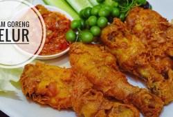 Cara Memasak Resep Ayam Goreng Telur Gurihnya Mantul