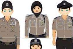 Seragam Cokelat Mirip Polisi Hanya untuk Satpam Kantor