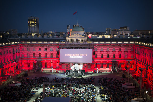 Film4 Summer Screen at Somerset House © James Bryant
