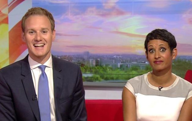 Viewers Shocked As Bbc Presenter Dan Walker Accidentally Drops The C Bomb On Live Tv