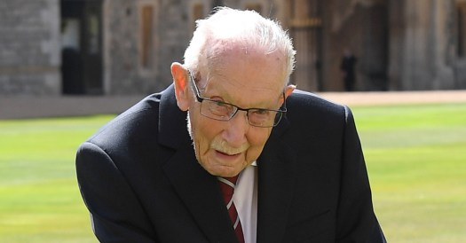 Captain Sir Tom Moore: Brits urge minute's silence for ...