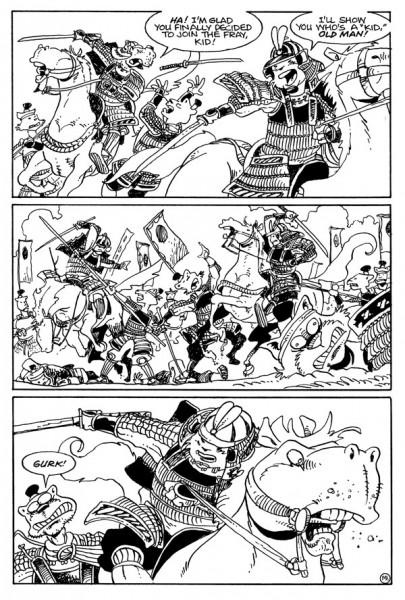 Usagi Yojimbo Senso #1 Page 3