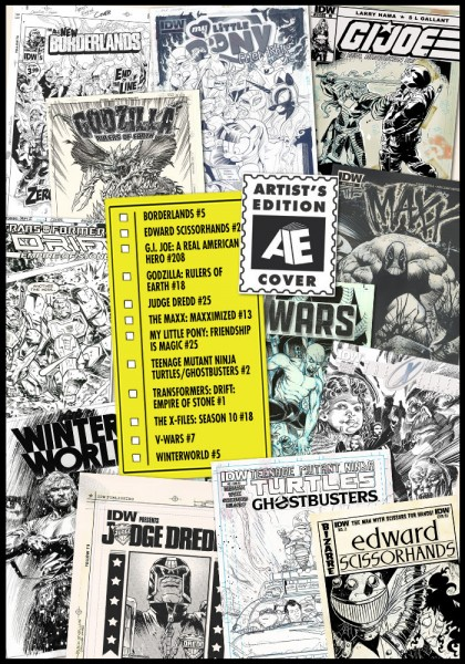 IDW artist's edition