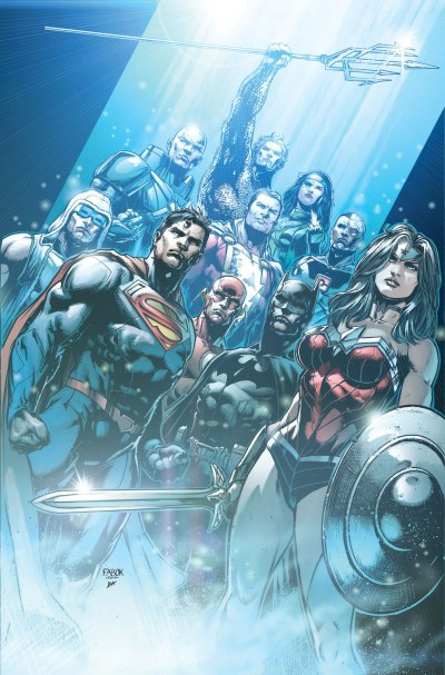 Justice League 36 cover