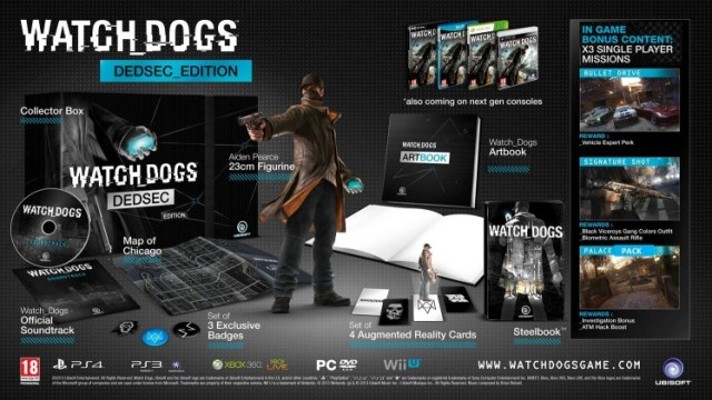 Watch Dogs preorder bonsuses