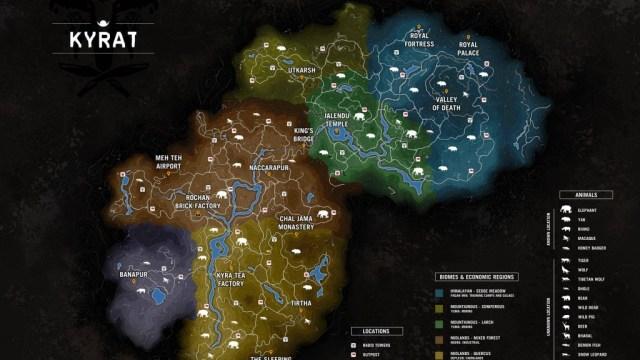 Far Cry 4 map leak