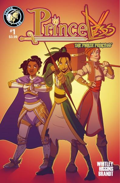 Princeless Volume 3 #1 Page 1
