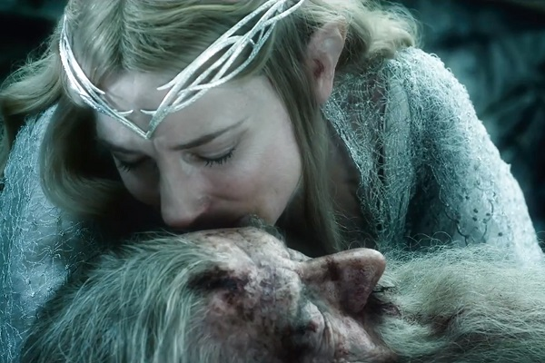 the hobbit battle of the five armies - gandalf and galadriel