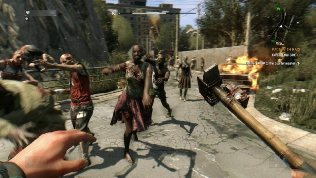 Dying Light gameplay PS4