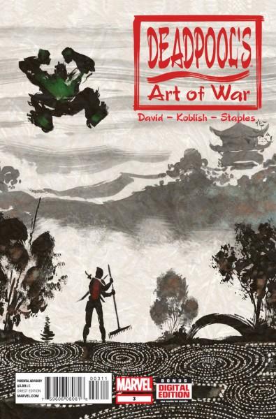 Best 2014 Deadpool Art of War 3