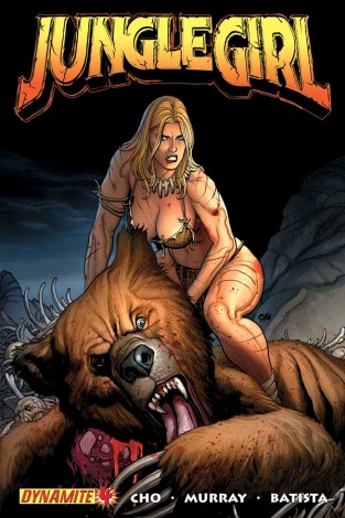 Jungle Girl 4 cover