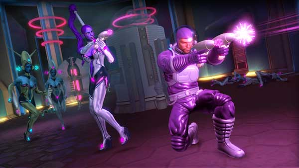 saints row aliens lasers