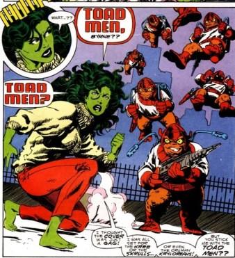 She-Hulk panel