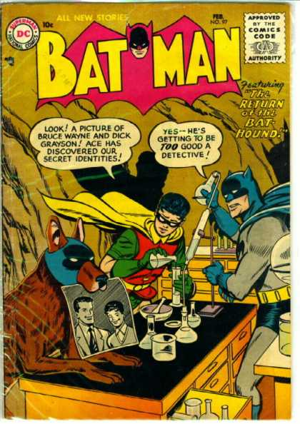 Image result for batman crazy covers 50s