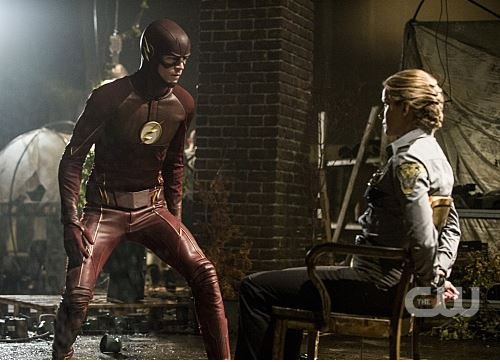 Flash and Patty Spivot - The Flash