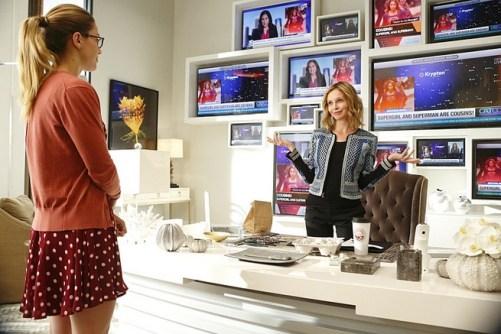Cat Grant, Kara Zor-El - Supergirl