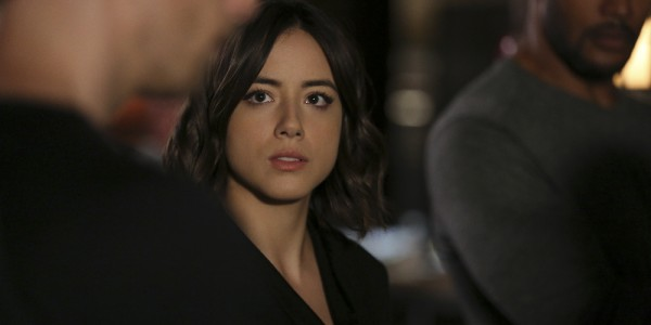 "MARVEL'S AGENTS OF S.H.I.E.L.D. - ""Many Heads, One Tale"" - The S.H.I.E.L.D. team discovers dangerous truths about the ATCU, and Ward's plans to destroy S.H.I.E.L.D. take a surprising twist, on ""Marvel's Agents of S.H.I.E.L.D.,"" TUESDAY, NOVEMBER 17 (9:00-10:00 p.m., ET) on the ABC Television Network. (ABC/John Fleenor) CHLOE BENNET"