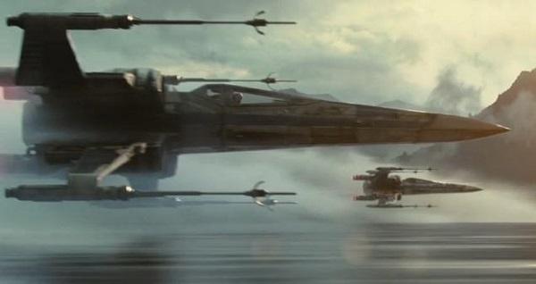 star wars the force awaken x-wings