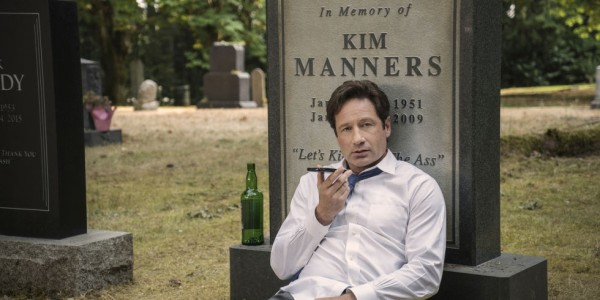 "THE X-FILES: David Duchovny in the ""Mulder & Scully Meet the Were-monster"" episode of THE X-FILES airing Monday, Feb. 1 (8:00-9:00 PM ET/PT) on FOX. ©2016 Fox Broadcasting Co. Cr: Ed Araquel/FOX"