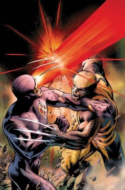 cyclops wolverine rivalries