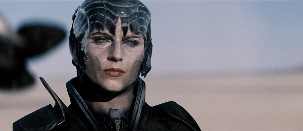 """ANTJE TRAUE as Faora-Ul in Warner Bros. Pictures' and Legendary Pictures' action adventure """"MAN OF STEEL,"""" a Warner Bros. Pictures release."""