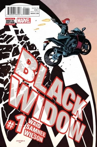 Black Widow #1 2016 creative teams