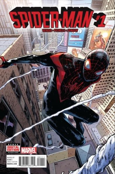Spider-Man #1 cover creative teams