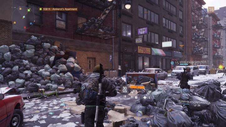 The Division online street