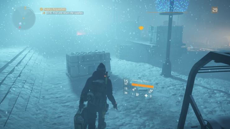 The Division snow carry box
